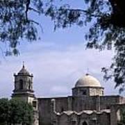 San Jose Mission San Antonio Texas Poster