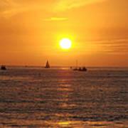 San Juan Capistrano Beach Sunset Poster