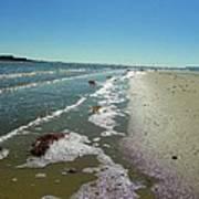 Sandsplit Beach Lowtide Poster