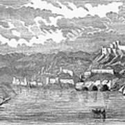 Santiago De Cuba, 1853 Poster