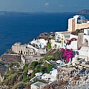 Santorini Lifestyle Poster