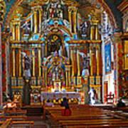 Santuario Mariano Interior Poster