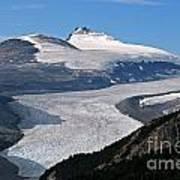 Saskatchewan Glacier Banff National Park Poster