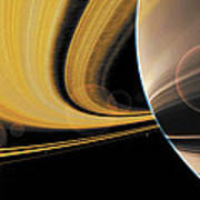 Saturn Glory Poster