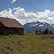 Sawtooth Cabin  Poster