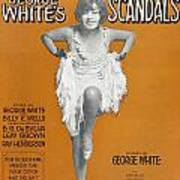 Scandals Songsheet, 1928 Poster