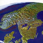 Scandinavia Poster