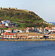 Scarborough Panorama Poster by Jane Rix