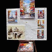 Scenes Of Paris For Sale Poster