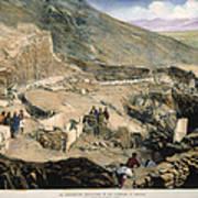 Schliemanns Excavation Poster