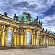 Schloss Sanssouci     Berlin Poster