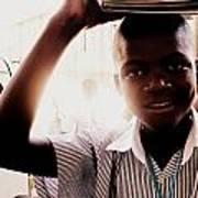 School Boy Poster