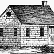 Schoolhouse, 18th Century Poster