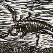 Scorpion Poster by Marita McVeigh
