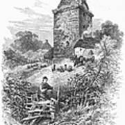 Scotland: Gilnockie Tower Poster