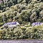 Scotland Homes Poster