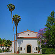 Scripps College Grounds Poster