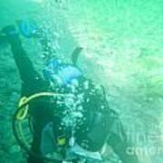 Scuba Diving Poster
