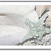 Sea Foam In Pastels Poster
