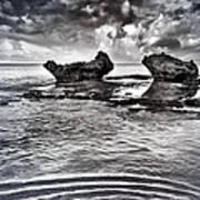 Sea Ripples Poster