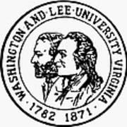 Seal: Washington & Lee Poster