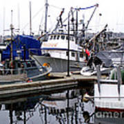 Seattle Fishermans Terminal Poster