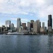 Seattle From The Water Poster