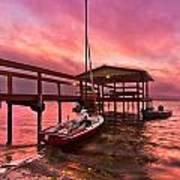 Sebring Sailing Poster
