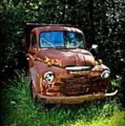 Second Vintage Dodge Truck Poster