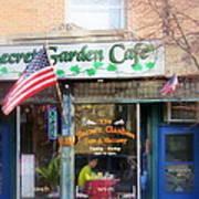 Secret Garden Cafe Poster