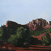 Sedona Summer Poster by Adam Smith
