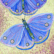 Self Expression Butterfly Poster