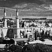 Selimiye Mosque Formerly St Sophia Cathedral In Northern Turkish Controlled Nicosia Cyprus Poster