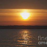 Seneca Lake Sunrise Poster