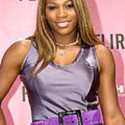 Serena Williams At The Press Conference Poster by Everett