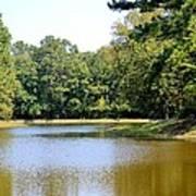 Serene Lake In September Poster