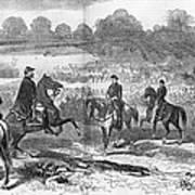 Seven Days Battles, 1862 Poster
