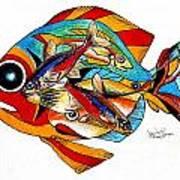 Seven Fish Poster