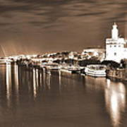 Sevilha By The River Poster