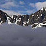 Seward Mountain Range Poster