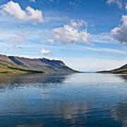 Seydisfjordur Fjord Poster