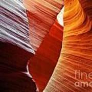 Shades Of Red - Antelope Canyon Az Poster