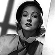 Shadow On The Wall, Ann Sothern, 1950 Poster by Everett