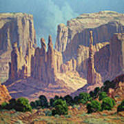 Shadows In The Valley Poster by Randy Follis