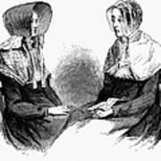 Shaker Women, 1875 Poster
