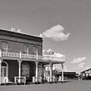 Shaniko Hotel Front Poster