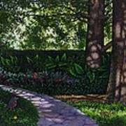 Shaw's Gardens Stone Pathway Poster
