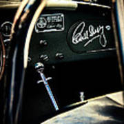 Shelby Cockpit Poster