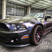 Shelby Gt500kr Poster