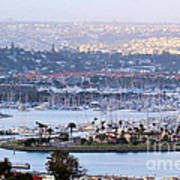 Shelter Island Point - San Diego Poster